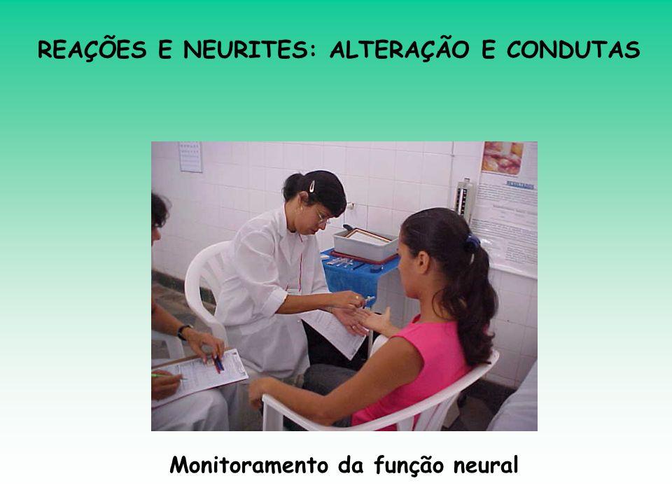 Monitoramento da função neural