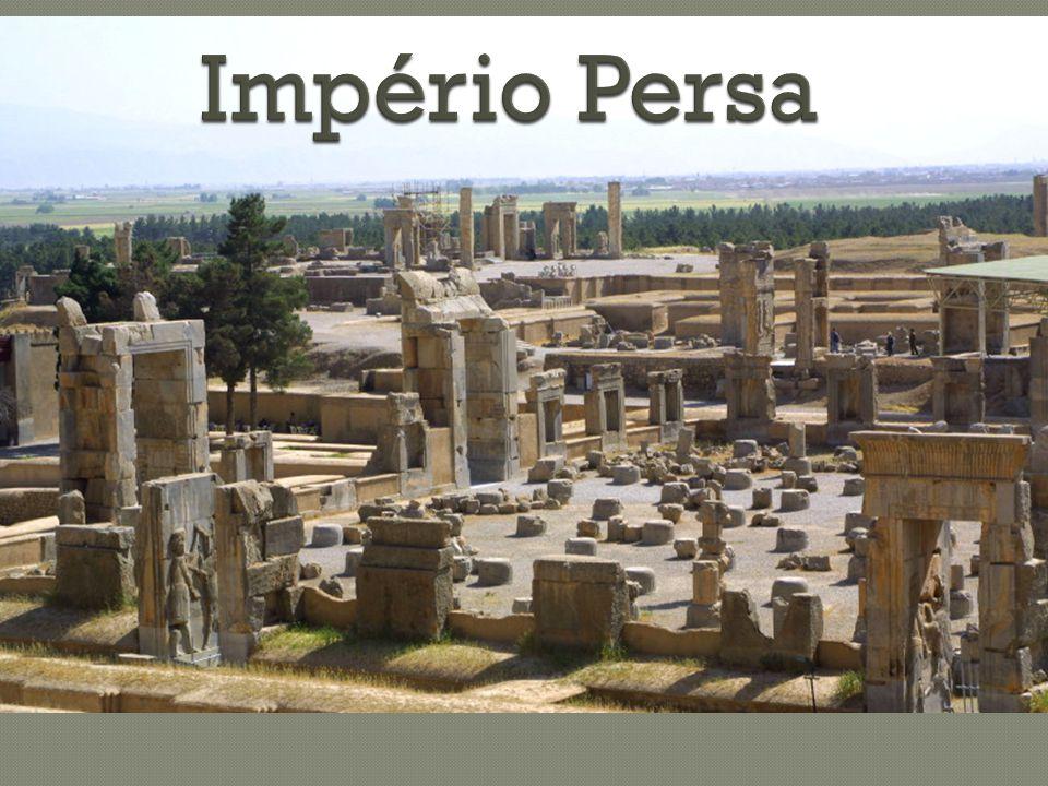  Com a destruição do Império Babilônico surge uma nova superpotência no Médio Oriente.