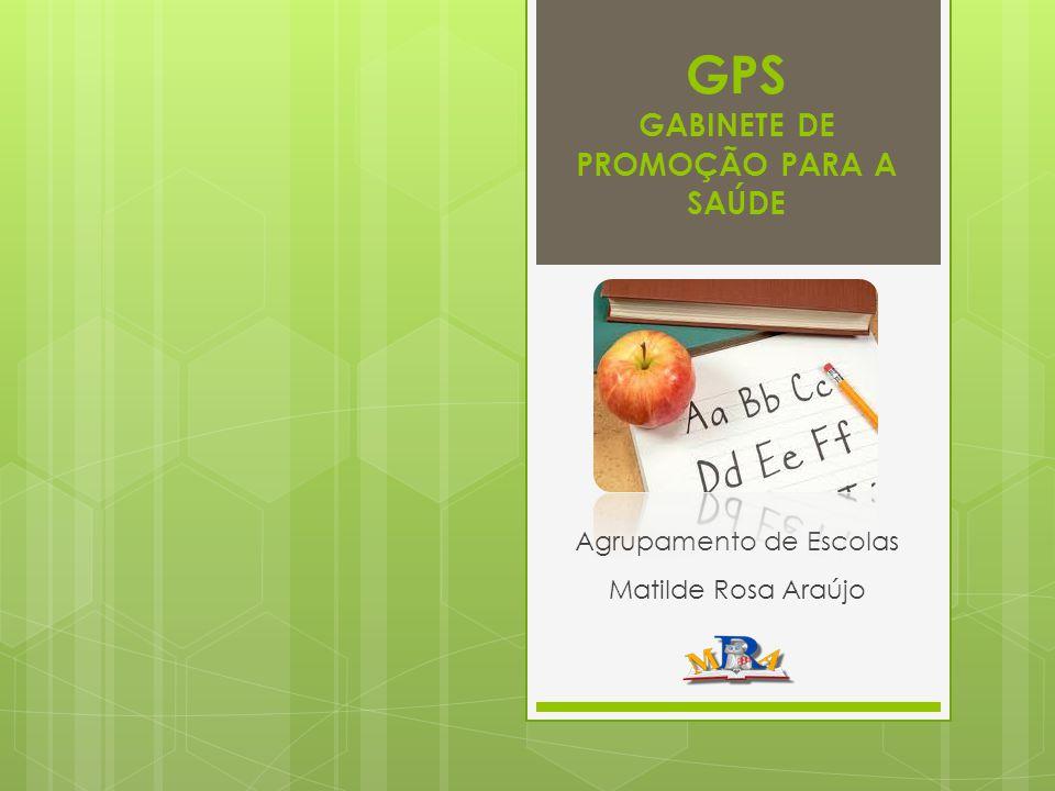 GPS GABINETE DE PROMOÇÃO PARA A SAÚDE Agrupamento de Escolas Matilde Rosa Araújo