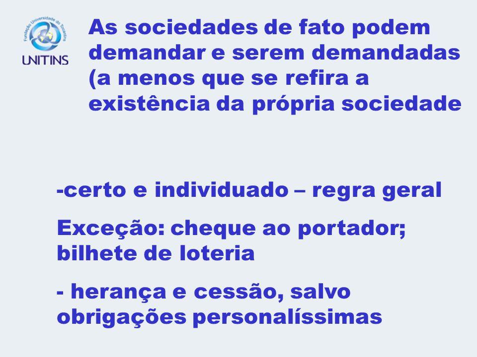 1 - CREDOR= qualquer pessoa, maior ou menor, capaz ou incapaz, nacional ou estrangeiro ELEMENTO SUBJETIVO