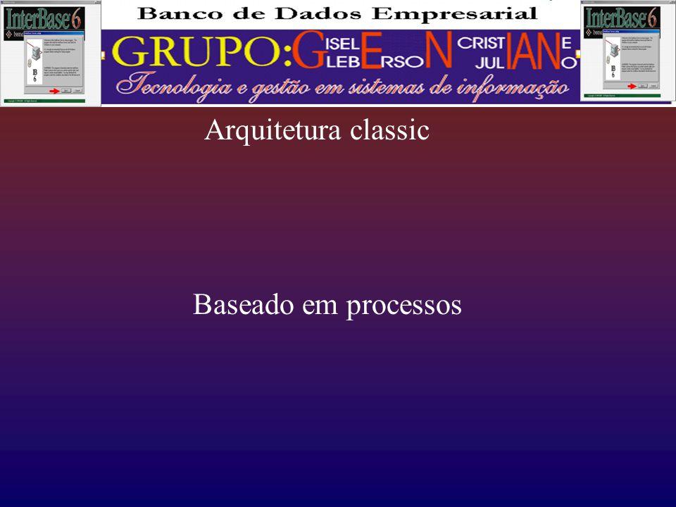 Arquitetura classic Baseado em processos