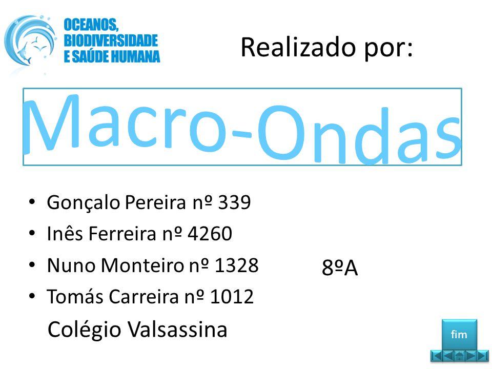 Realizado por: • Gonçalo Pereira nº 339 • Inês Ferreira nº 4260 • Nuno Monteiro nº 1328 • Tomás Carreira nº 1012 8ºA Colégio Valsassina fim