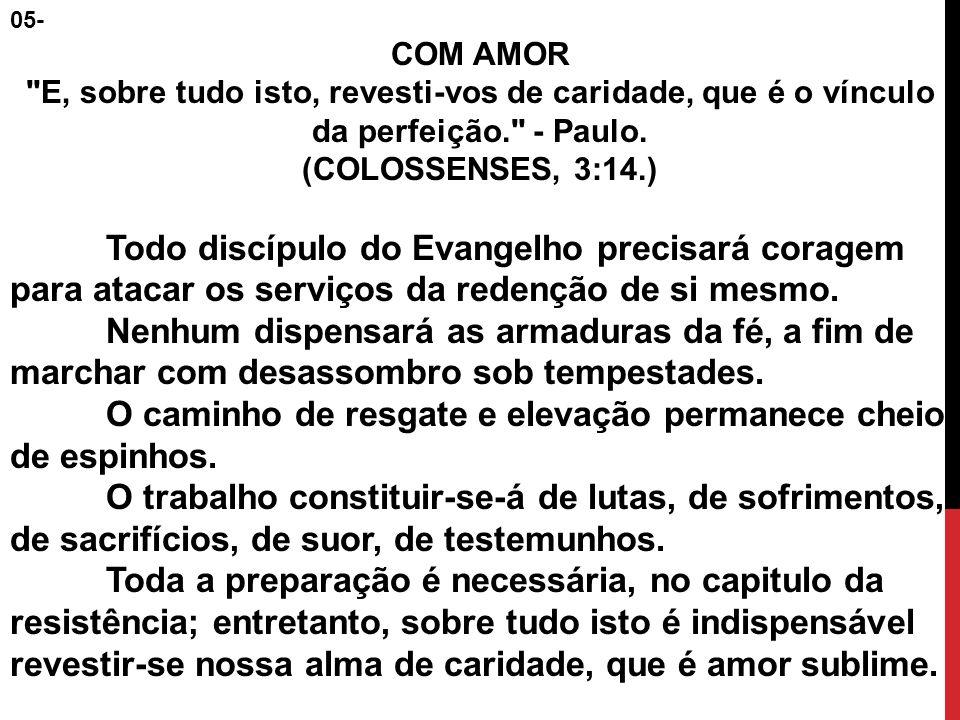 05- COM AMOR