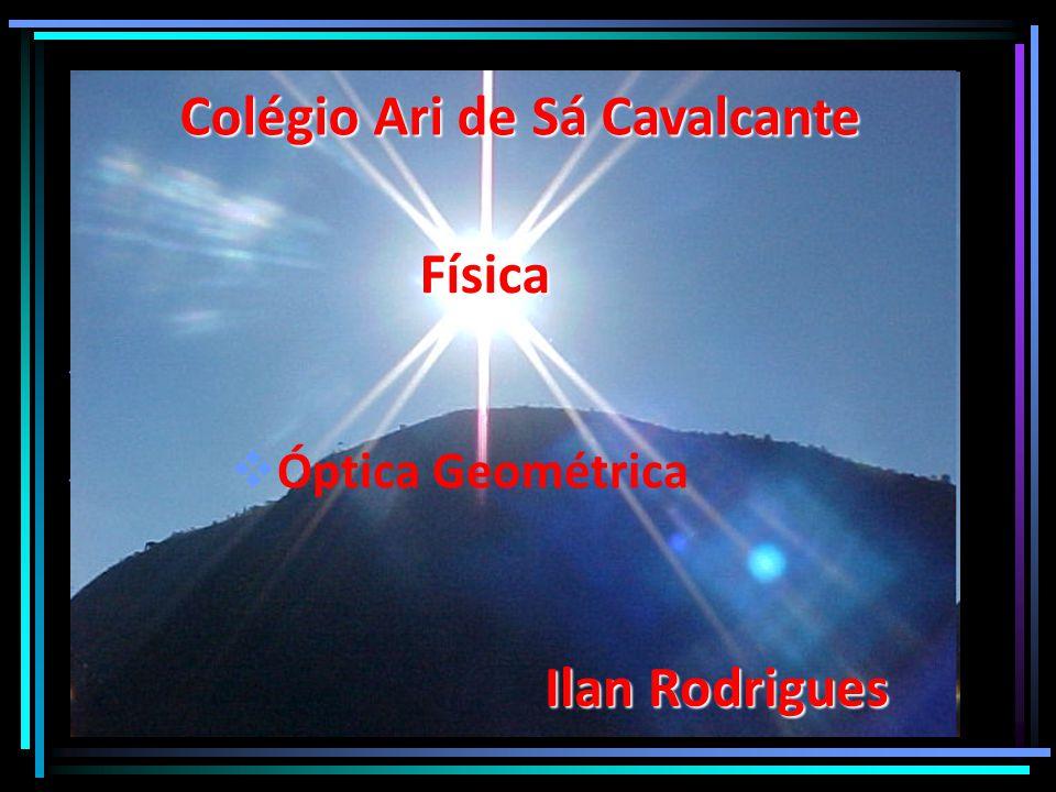     ÓÓptica Geométrica Colégio Ari de Sá Cavalcante Física Ilan Rodrigues