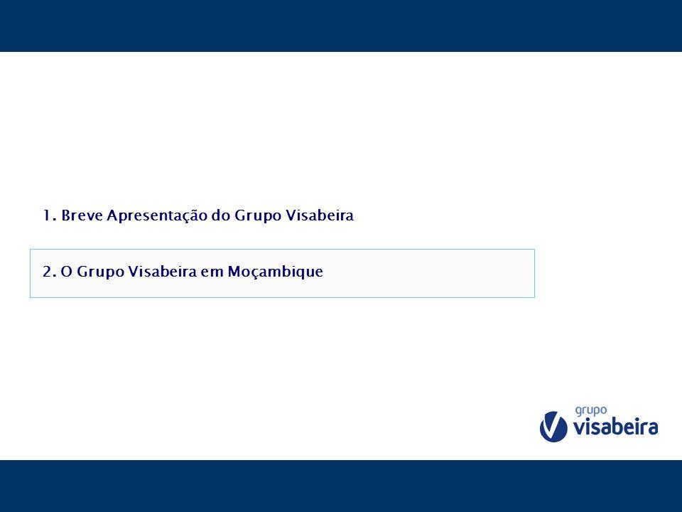 1. Breve Apresentação do Grupo Visabeira 2. O Grupo Visabeira em Moçambique