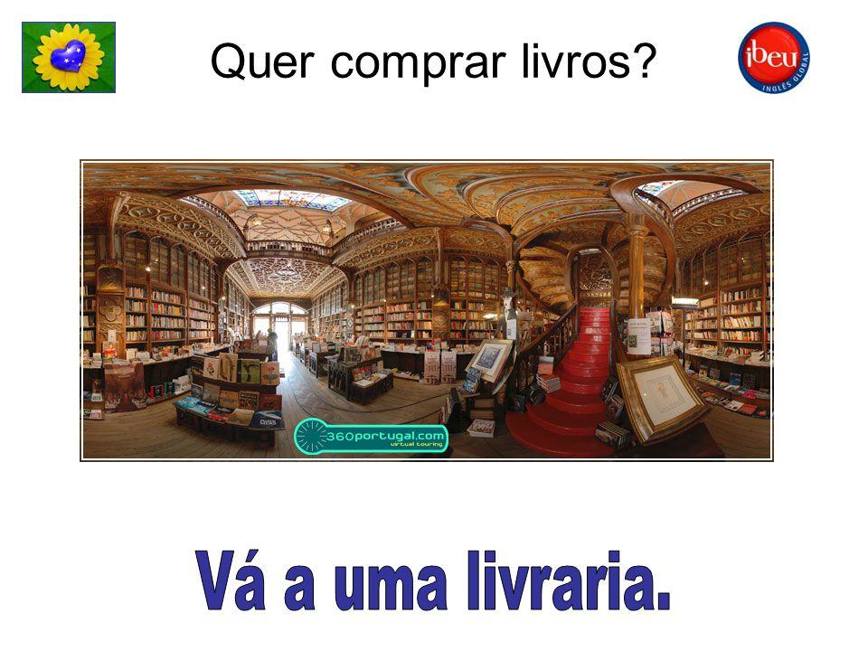 Quer comprar livros?