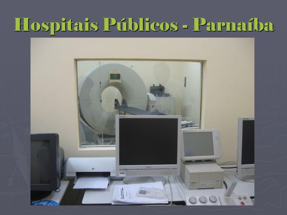 Hospitais Públicos - Parnaíba