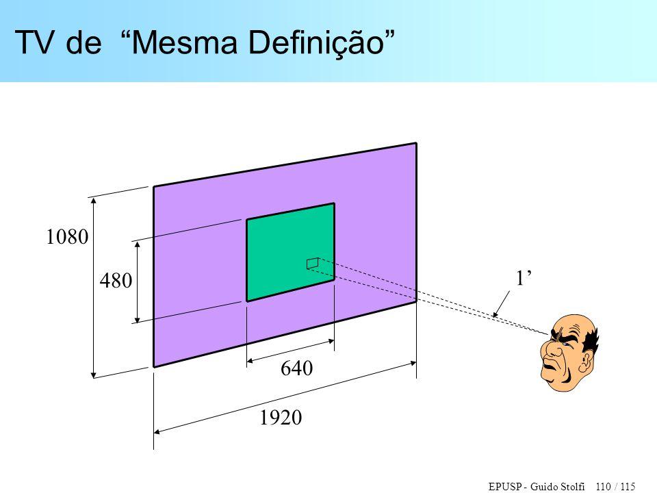 """EPUSP - Guido Stolfi 110 / 115 TV de """"Mesma Definição"""" 1920 640 480 1080 1'"""