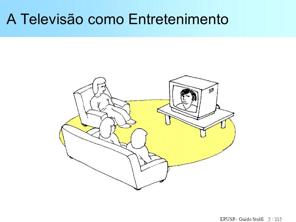EPUSP - Guido Stolfi 5 / 115 A Televisão como Entretenimento