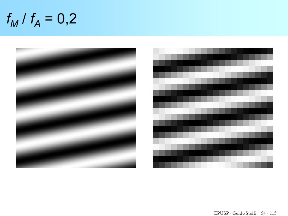EPUSP - Guido Stolfi 54 / 115 f M / f A = 0,2