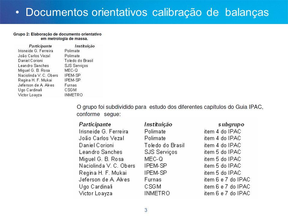 4 Agenda reunião CT-10 junho 2011 • Harmonização de práticas de calibração (ex.: calibração de balanças dotadas de auto ajuste ; dúvidas Tecpar).