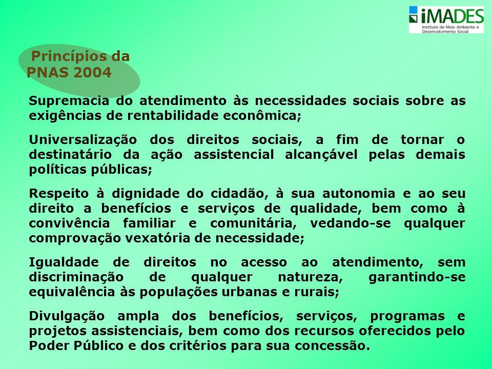 Supremacia do atendimento às necessidades sociais sobre as exigências de rentabilidade econômica; Universalização dos direitos sociais, a fim de torna