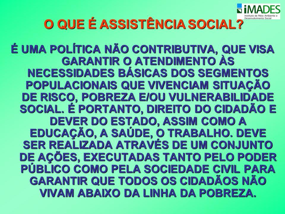 •Propõe uma unidade de referência estatal local de assistência social para o atendimento especializado, o Centro de Referência Especializado de Assistência Social - CREAS.