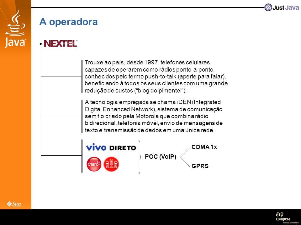 A operadora : • Contatos (área de dados) • José Backes (data sales, procurement & partnerships) • Roberta Dias (data sales) • Juan Felipe Rincón (developer & partner programs) 1o.3o.2o....