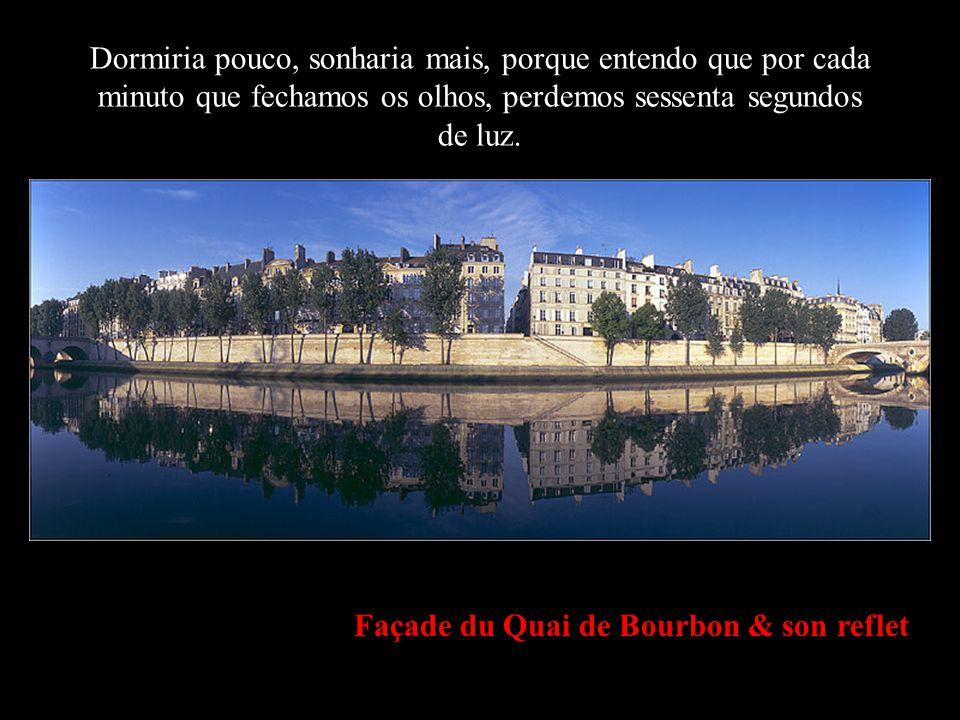 Bras de la Seine depuis l Ile Saint Louis Sempre diz o que sentes e faz o que pensas.