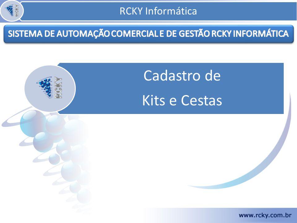 O cadastro de Kits e Cestas consiste em criar um código que chamará, no PDV, todos os produtos que compõe o kit ou cesta cadastrado.
