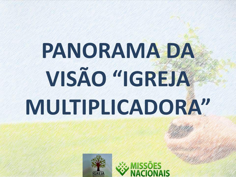 PANORAMA DA VISÃO IGREJA MULTIPLICADORA