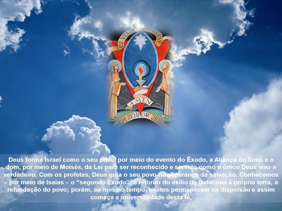 O Catecismo da Igreja Católica resume as etapas da Revelação divina mostrando sinteticamente o seu desenvolvimento (cf.