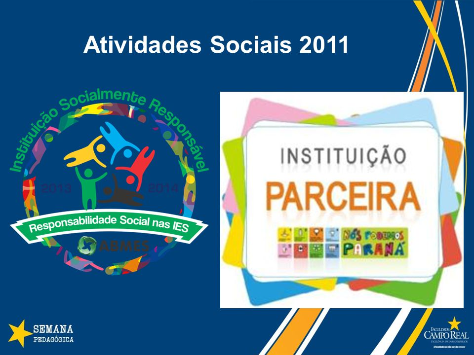 Atividades Sociais 2011