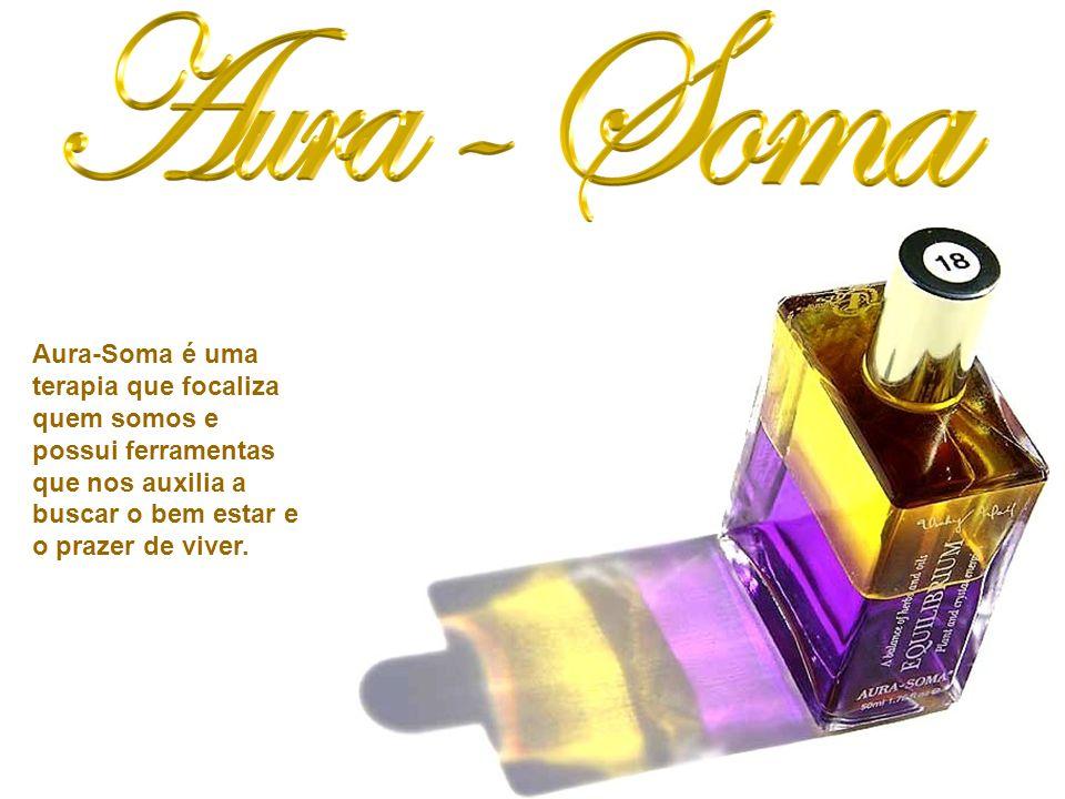 Aura-Soma caracteriza-se por ser uma terapia não invasiva e auto-seletiva.