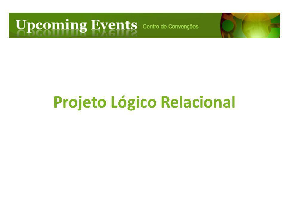 Projeto Lógico Relacional