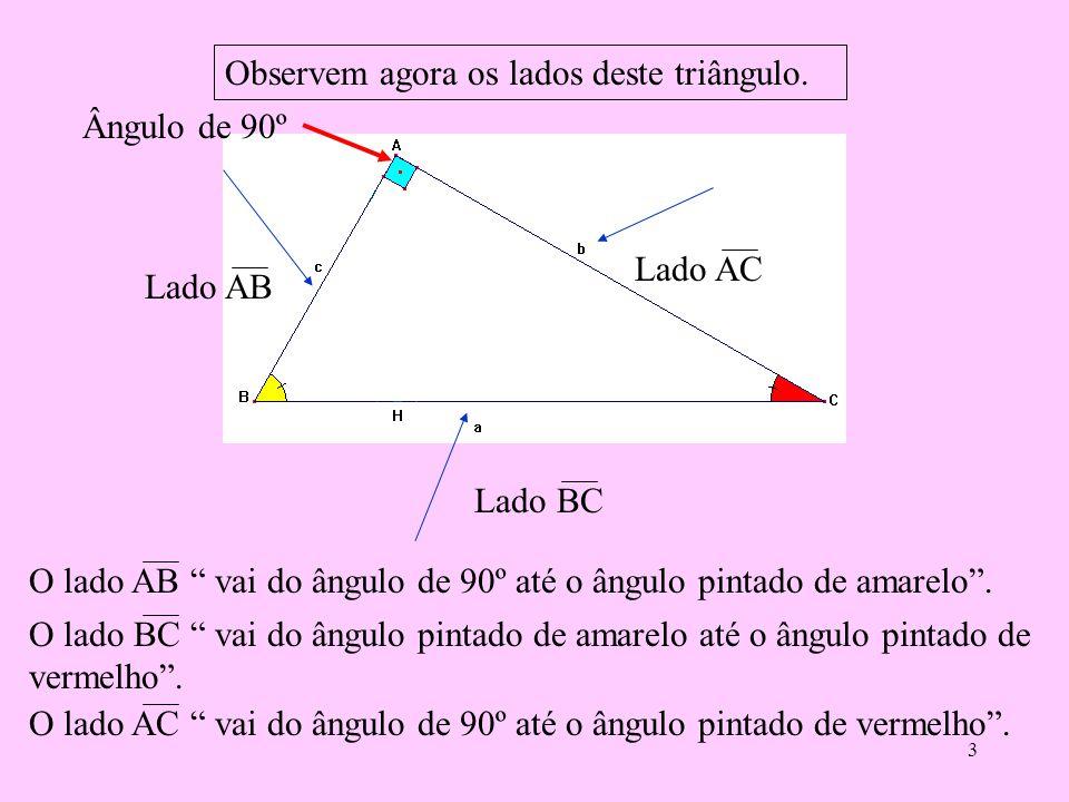 2 Ao dividirmos o triângulo ABC, pela altura relativa a sua hipotenusa, formamos os triângulos ABH e ACH, veja que são retângulos em Ĥ. E assim, desta