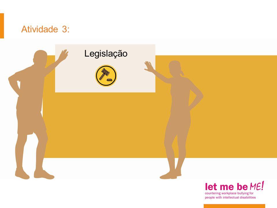 Atividade 3: Legislação