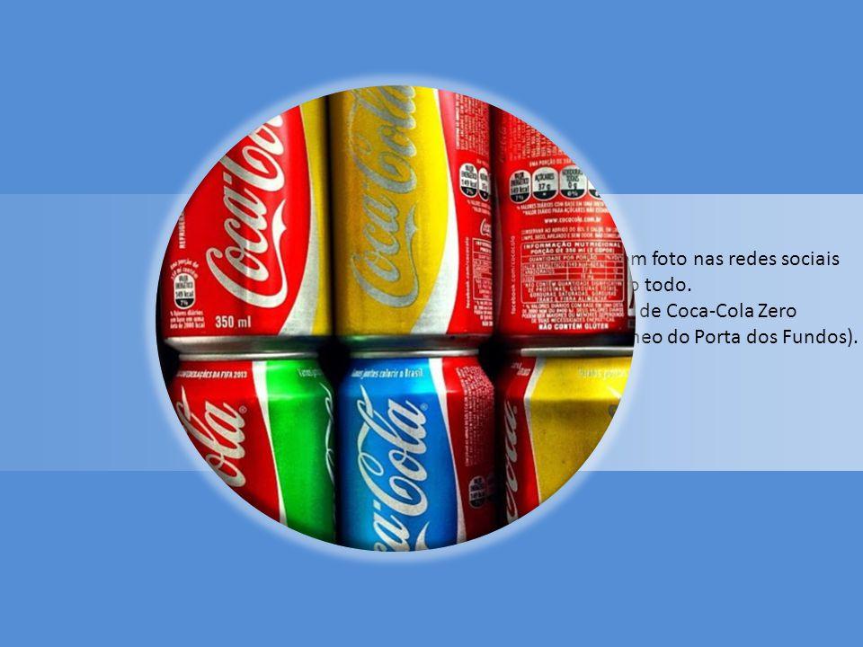 Coca-Cola Azul.