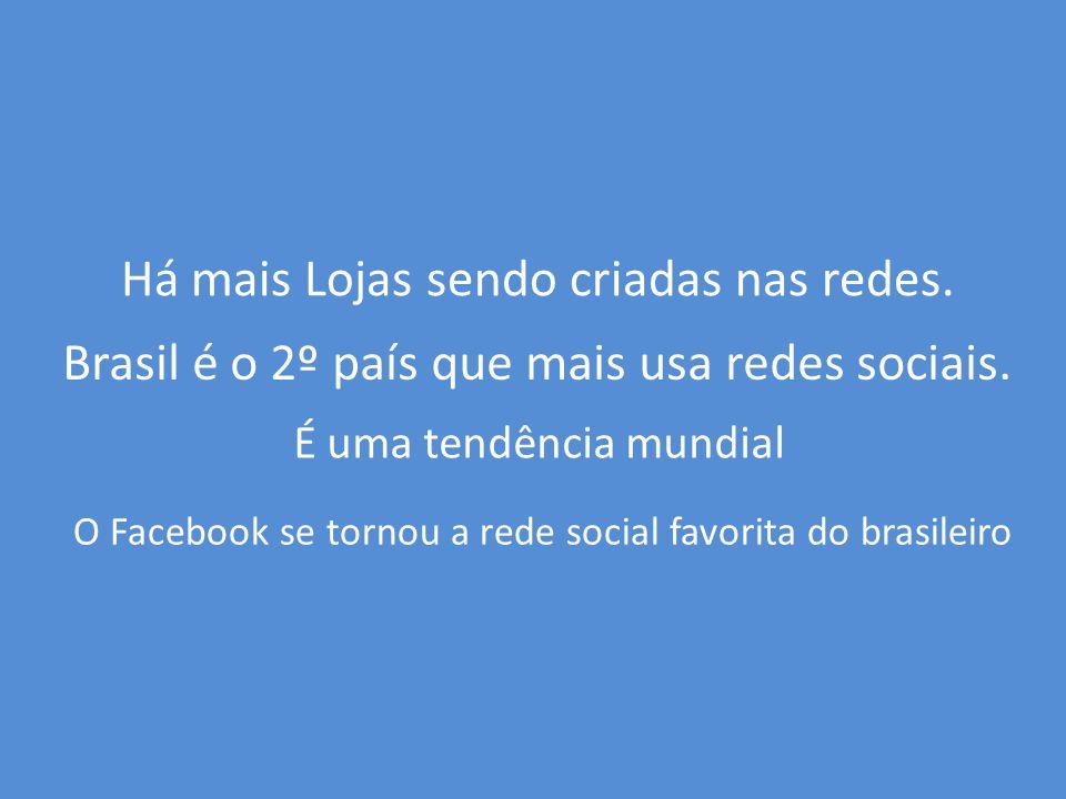 O Brasil é um dos 4 países que mais usa redes sociais no mundo.