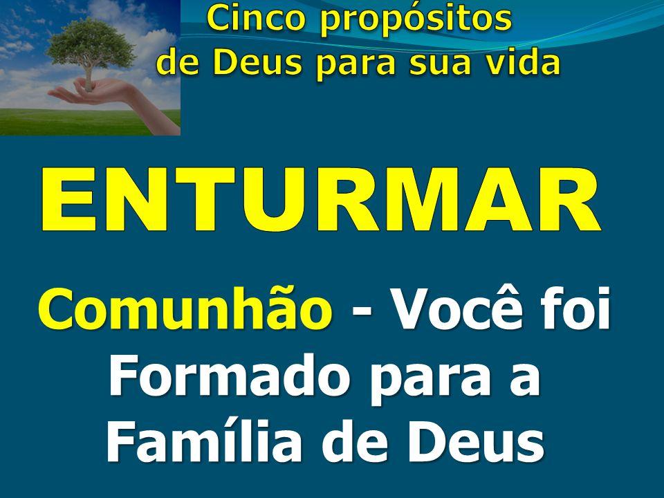 Comunhão - Você foi Formado para a Família de Deus
