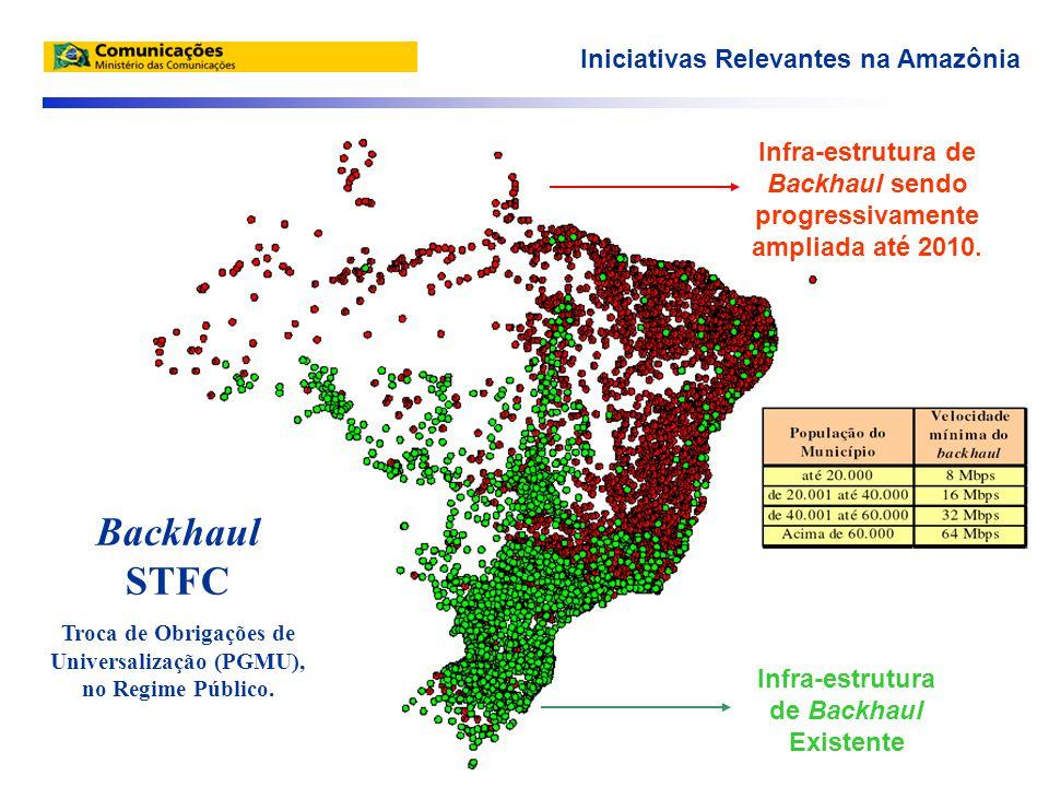 Mais de 136 mil TUP instalados em toda a Amazônia Legal.