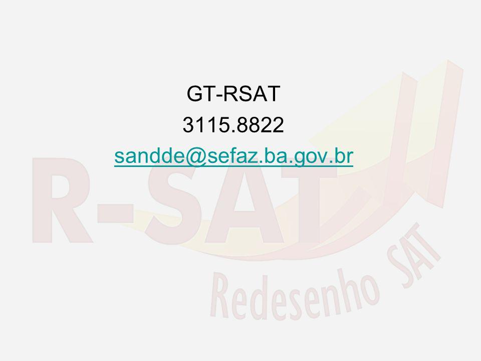 GT-RSAT 3115.8822 sandde@sefaz.ba.gov.br