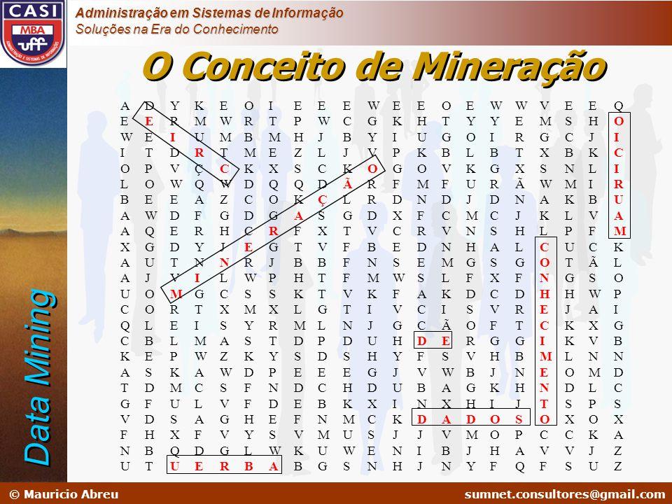 sumnet@microlink.com.br © Mauricio Abreusumnet.consultores@gmail.com Administração em Sistemas de Informação Soluções na Era do Conhecimento AEWIOLBAA