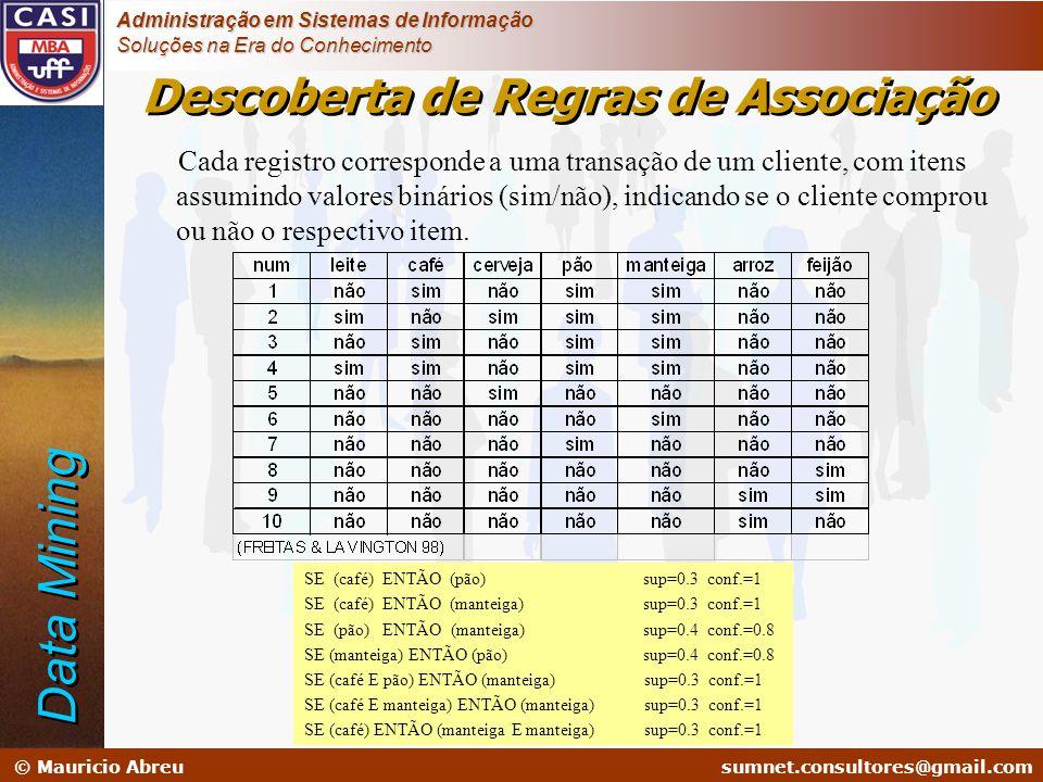 sumnet@microlink.com.br © Mauricio Abreusumnet.consultores@gmail.com Administração em Sistemas de Informação Soluções na Era do Conhecimento Cada regi