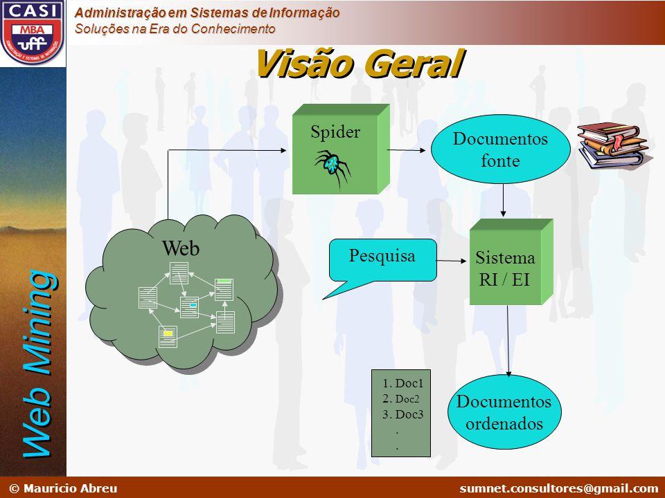 sumnet@microlink.com.br © Mauricio Abreusumnet.consultores@gmail.com Administração em Sistemas de Informação Soluções na Era do Conhecimento Sistema R