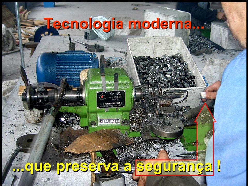 BOAS CONDIÇÕES DE TRABALHO... Logística e organização...