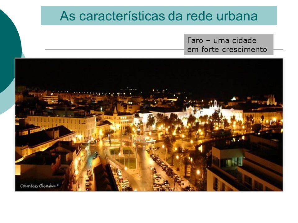 As características da rede urbana Portimão – uma cidade em forte crescimento
