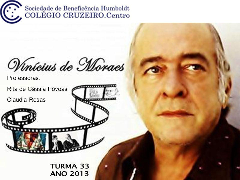 Professoras: Rita de Cássia Póvoas Claudia Rosas