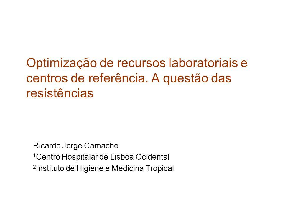 Optimização de recursos laboratoriais e centros de referência.