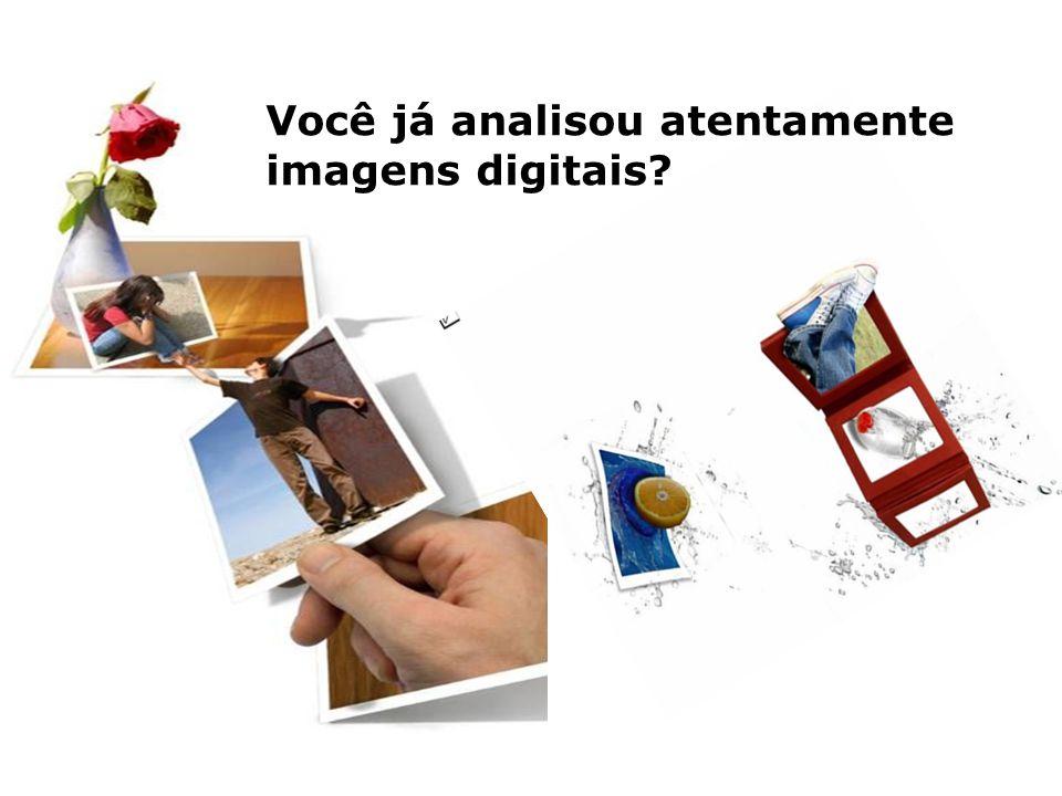Você já analisou atentamente imagens digitais?