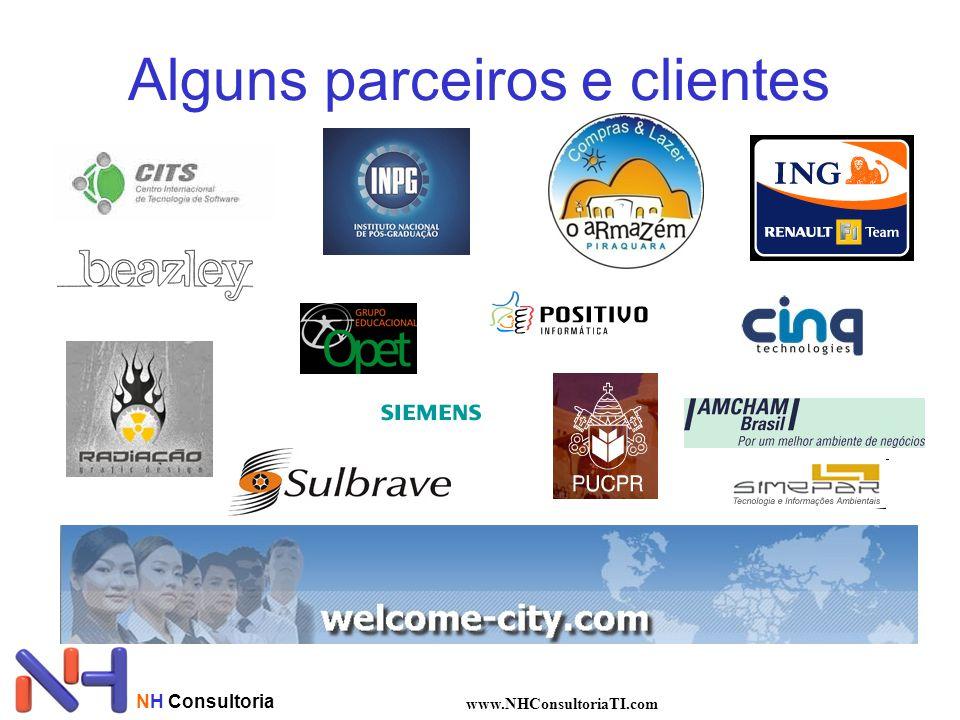 NH Consultoria www.NHConsultoriaTI.com Alguns parceiros e clientes