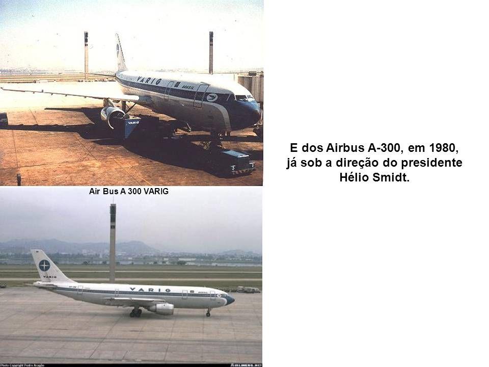 Varig 737 Esse crescimento permitiu à VARIG ampliar e atualizar a frota com aquisição dos Boeing 737-200, em 1974.