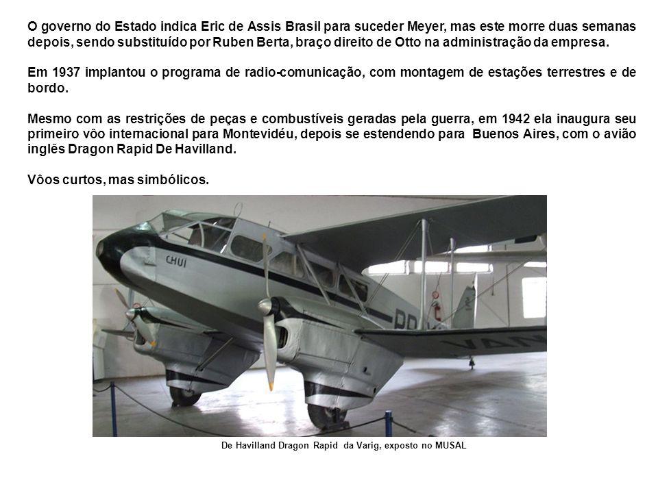Dornier Wal Atlântico No final de 1926, negociou com a Condor Syndikat (subsidiária da Lufthansa) interessada em expandir seus negócios no Brasil, o fornecimento de aviões, pilotos e mecânicos.
