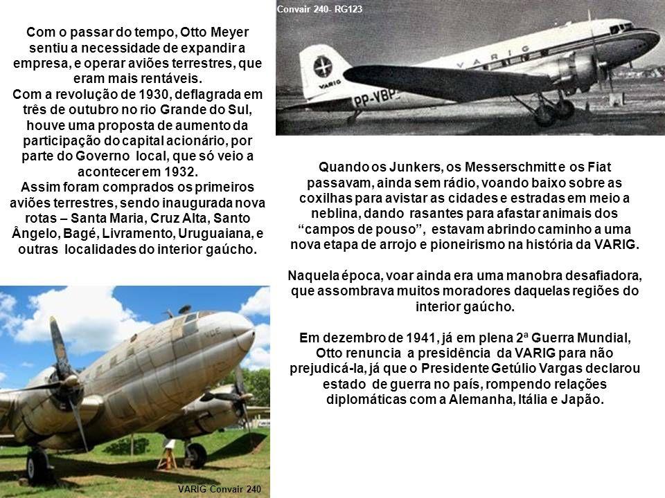 O governo do Estado indica Eric de Assis Brasil para suceder Meyer, mas este morre duas semanas depois, sendo substituído por Ruben Berta, braço direito de Otto na administração da empresa.