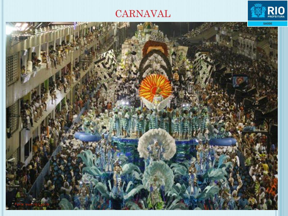 CARNAVAL Fonte: www.rio.rj.gov.br