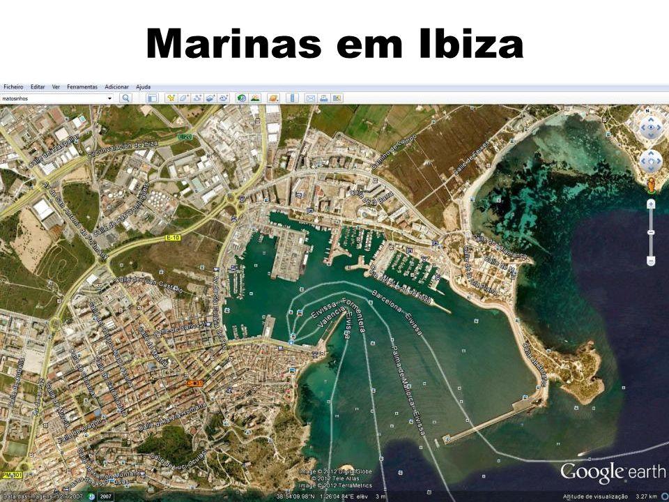 6 Marinas em Ibiza