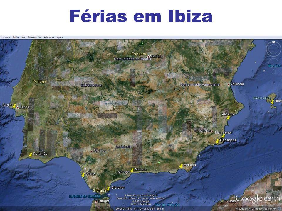9 Férias em Ibiza