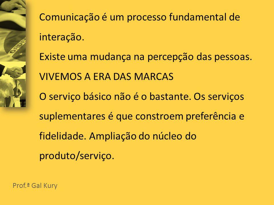 Comunicação é um processo fundamental de interação.