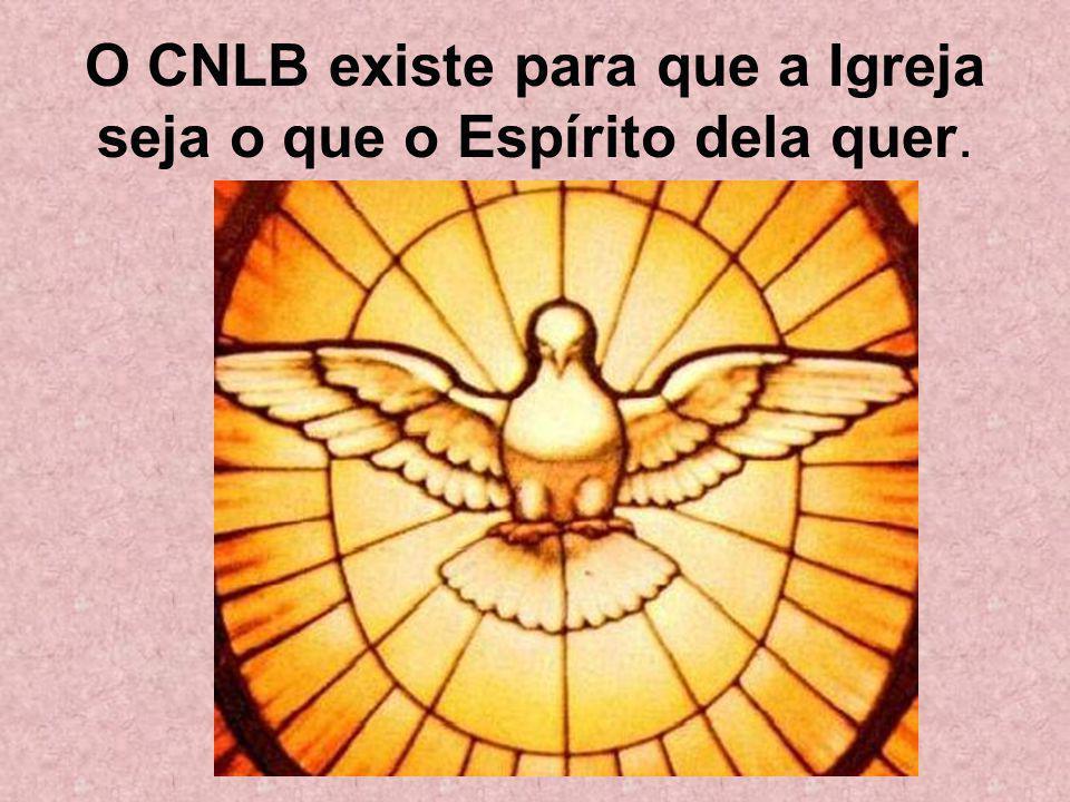 O CNLB existe para que a Igreja seja o que o Espírito dela quer.