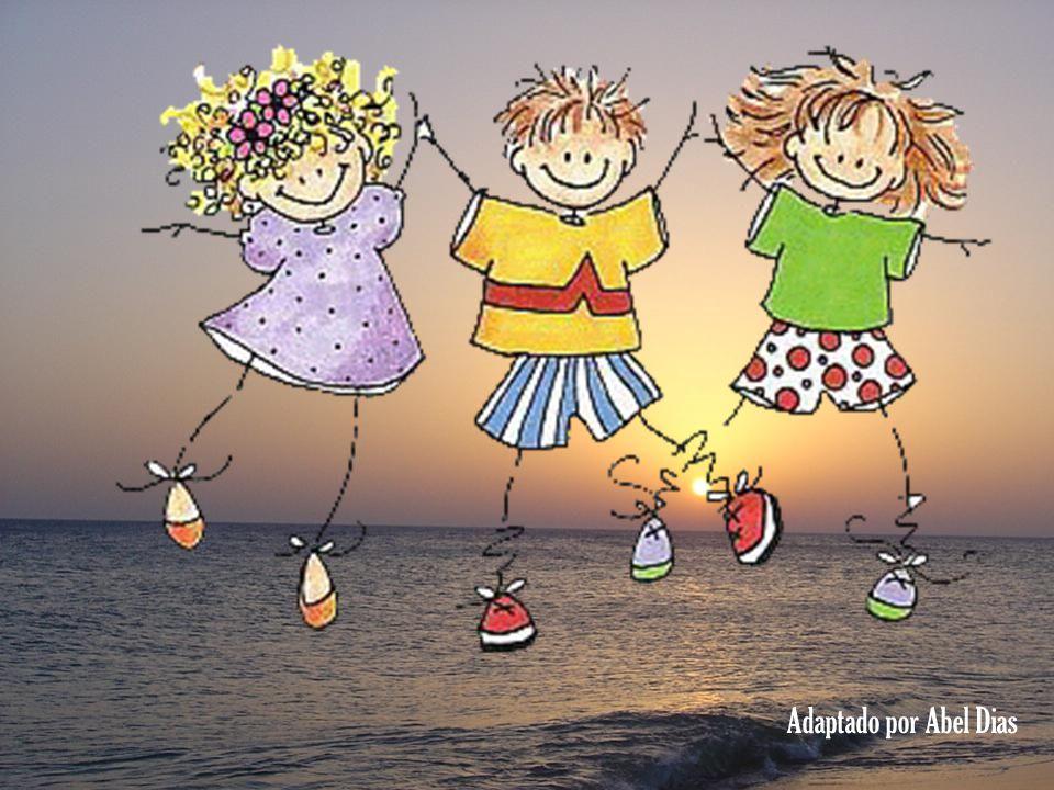 Se os reunirmos a veremos um Grande Encontro, de Amor ! todos num Arco-íris